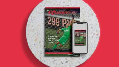 El León de Oro protagoniza la portada de Diffusion Sport nº 522