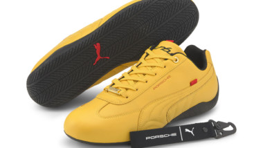 Puma se inspira en el Porsche 911 Turbo para una sofisticada colección de zapatillas