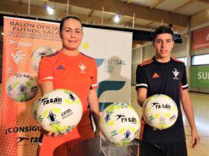 Rasán será balón oficial de fútbol sala de la Federació de Futbol de la Comunitat Valenciana