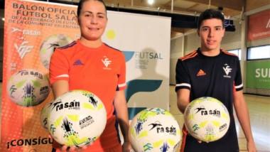 Rasán se convierte en balón oficial de fútbol sala en la Comunitat Valenciana