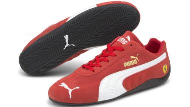 Puma funde estilo y velocidad en su colección Scuderia Ferrari Speedcat