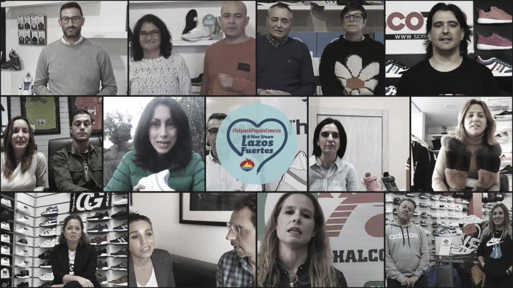 """campaña navideña de J'hayber con el comercio """"Nos Unen Lazos"""""""