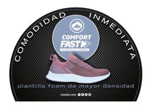 calzado de J'hayber con tecnología Comfort Fast