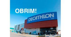 Decathlon Vic abre pese a las restricciones por el coronavirus