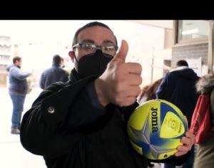 Joma, campaña ningún balón sin niño