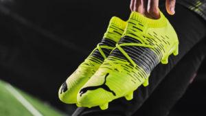 Neymar promociona las nuevas botas de fútbol de Puma Future Z