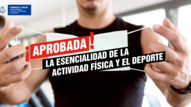 El Congreso propone declarar esencial la actividad física y el deporte