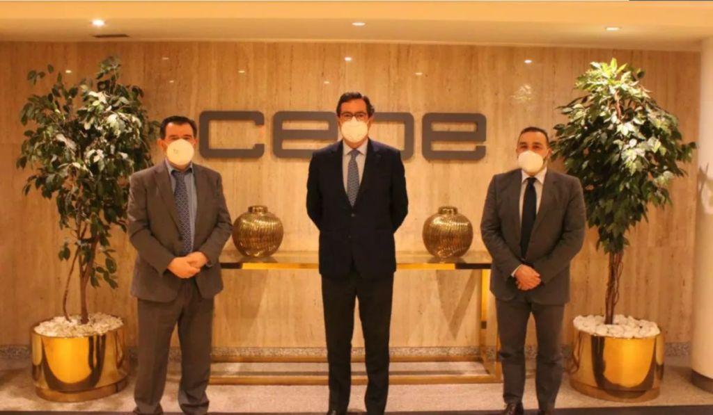 Encuentro entre CLABE y CEOE