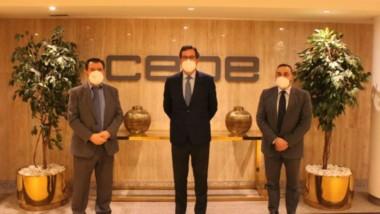 Antonio Garamendi (CEOE) y Arsenio Escolar (CLABE) se reúnen para analizar la actualidad