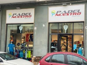 tienda Padel Nuestro en Italia