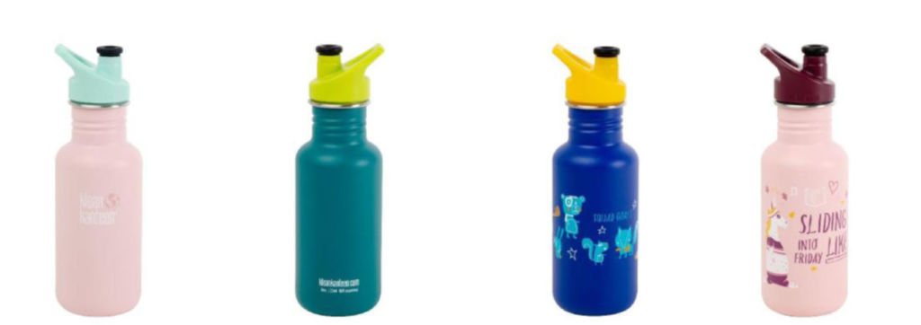 nuevas botellas de Klean Kanteen en edición limitada