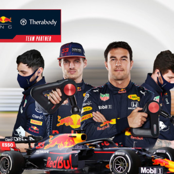 Therabody se hace fuerte en el fútbol y en la Fórmula 1
