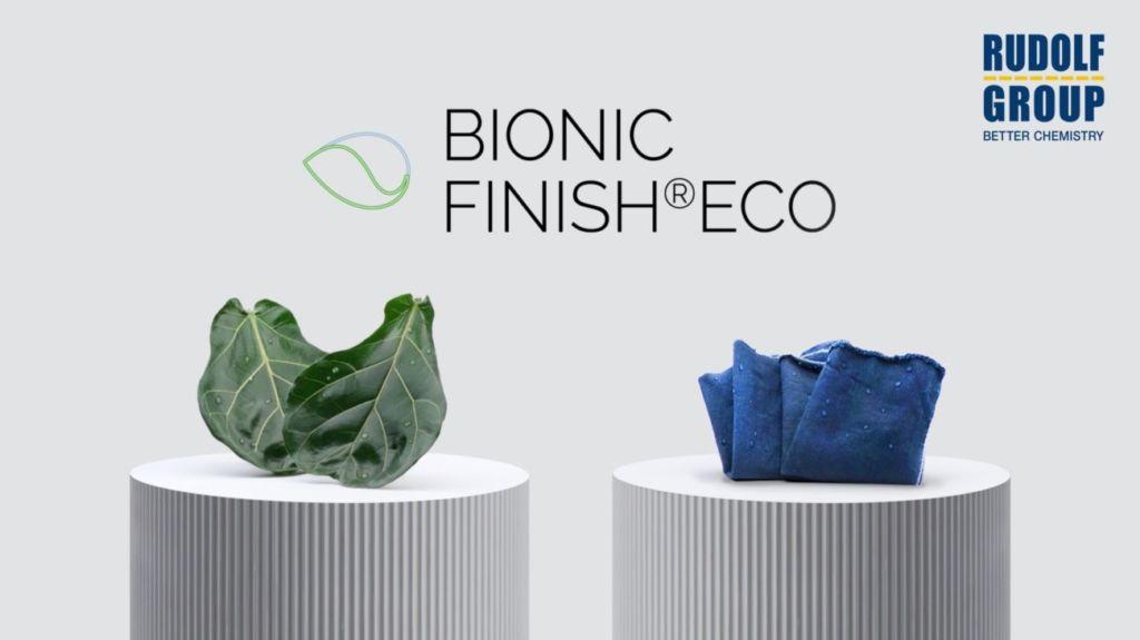Rudolf Group: soluciones textiles hidrorrepelentes y respetuosas con el medio ambiente
