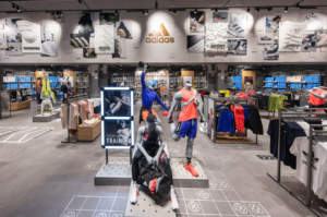 outlet de Adidas en La Roca Village