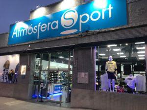 remodelación de la tienda de Atmósfera Sport en Cártama