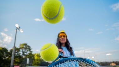 Deportes de raqueta: juego de dobles