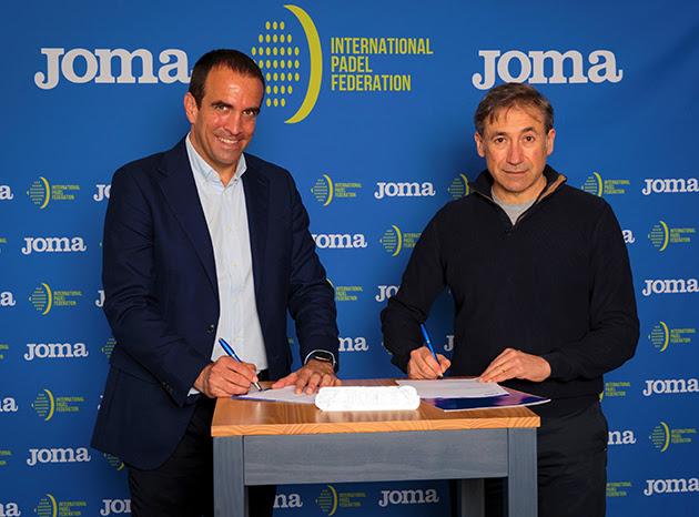 acuerdos de patrocinio de Joma con el fútbo sala brasileño y el pádel internacional