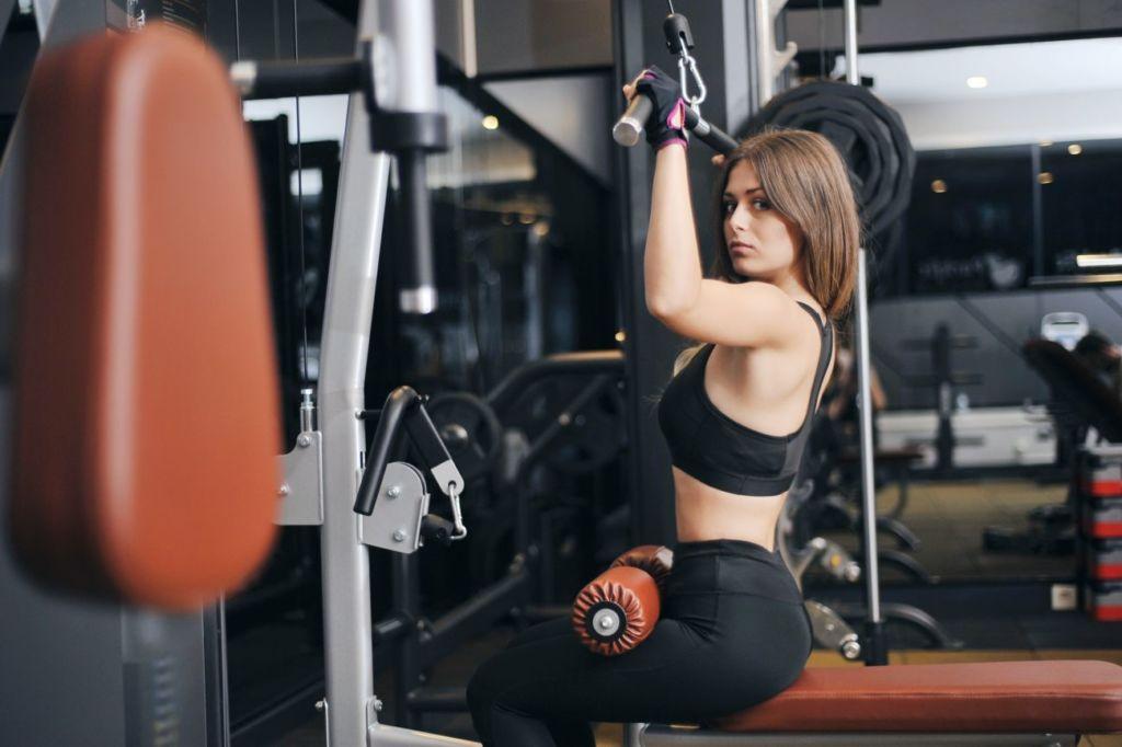 práctica de fitness
