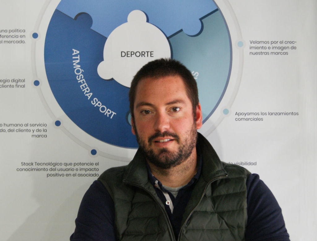 Álvaro Llorens es director de ecommerce y Marketing de Atmósfera Sport
