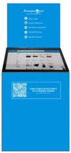 presentación de Kiosco Plus en Atmósfera Sport