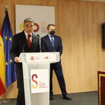 «El deporte va a contribuir a que la sociedad española vea la luz al final del túnel de la pandemia»