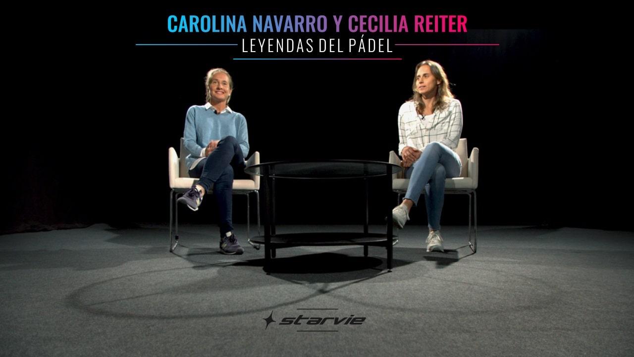Carolina Navarro y cecilia Reiter, leyendas del pádel con Starvie en un documental