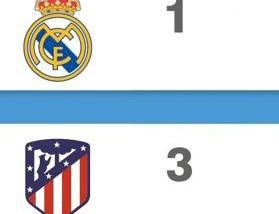 El Real Madrid, campeón de LaLiga española y el Atlético, tercero