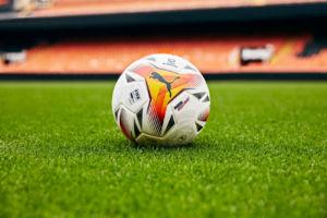 nuevo balón oficial de LaLiga concebido por Puma