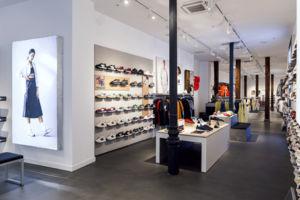 tienda New Balance en la calle Fuencarral de Madrid