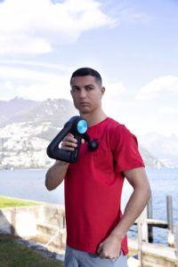 Cristiano Ronaldo se asocia con Therabody