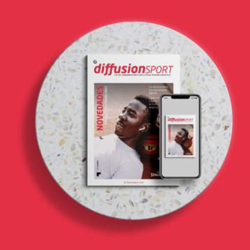 Spalding protagoniza la portada de verano de Diffusion Sport