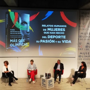 """El Museu Olímpic acoge la presentación del libro """"Más que olímpicas"""""""