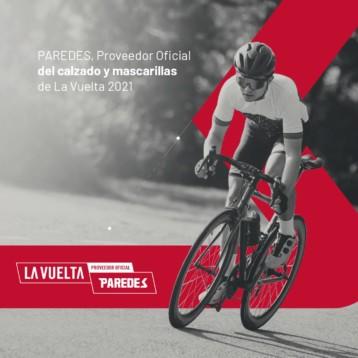 Paredes vuelve al ciclismo como proveedor oficial de La Vuelta a España 2021
