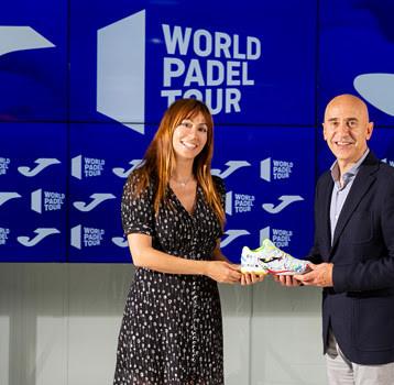 Joma se afianza en el World Padel Tour
