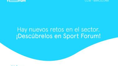 El deporte se da cita en Sport Forum este jueves, 21 de octubre