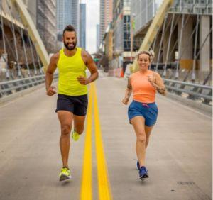 campaña de Saucony en torno al running y de apoyo al punto de venta
