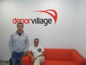 Xavier Pladellorens y Angel Corcuera son socios fundadores de Deporvillage