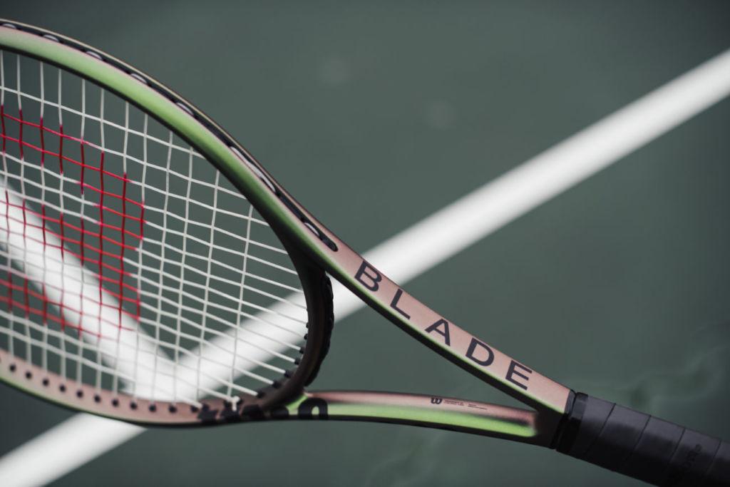 raqueta Blade V8 de Wilson