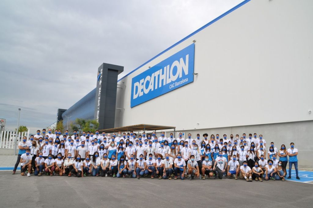 centro logístico continental de Decathlon en Barcelona
