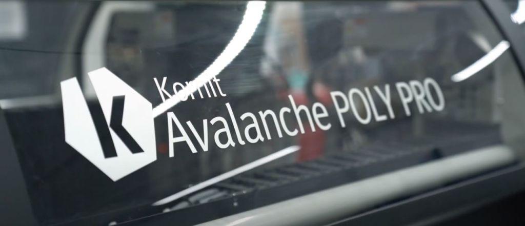 Kornit proporciona impresión digital de máxima calidad con Avalanche Polypro