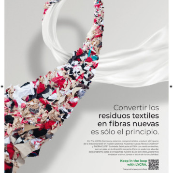 The Lycra Company promueve la sostenibilidad y la circularidad en la industria textil