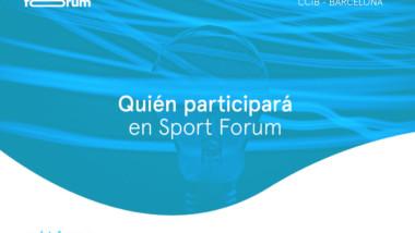 Avance del congreso Sport Forum