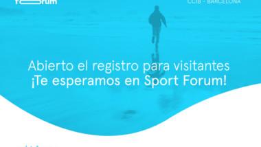 Ya están abiertas las inscripciones para acudir a Sport Forum