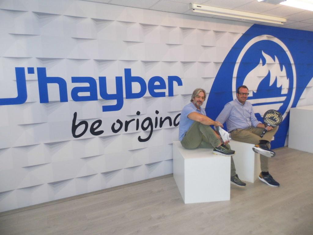 Enrique Llorens e Israel Navarro, de J'hayber