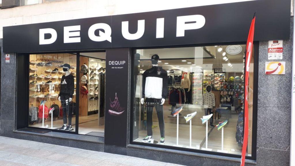 tiendas de deporte Dequip